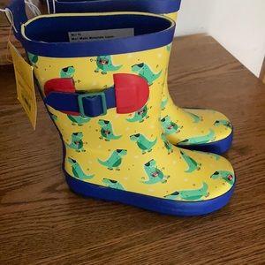 New Sun Squad kids Rain boots size 7/8
